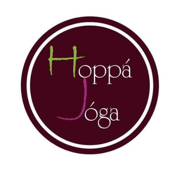 Hoppá Jóga logo