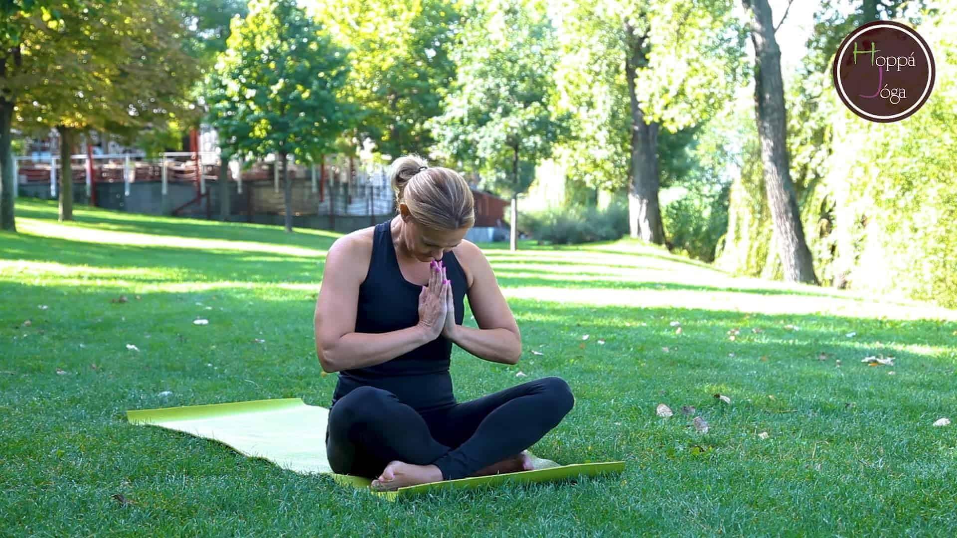 Stresszoldó jóga videók